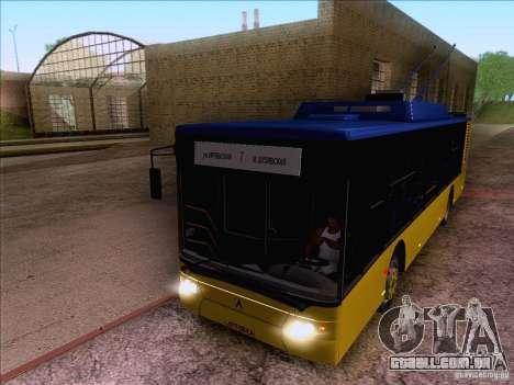 ElectroLAZ-12 para GTA San Andreas vista traseira
