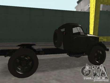 GAZ 51P para GTA San Andreas traseira esquerda vista