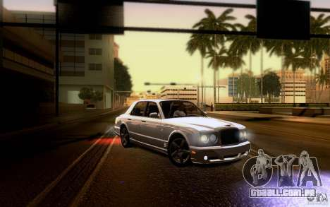 Bentley Arnage para o motor de GTA San Andreas