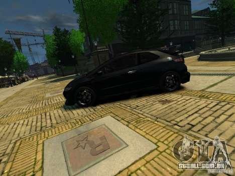 Honda Civic Type R Mugen para GTA 4 esquerda vista