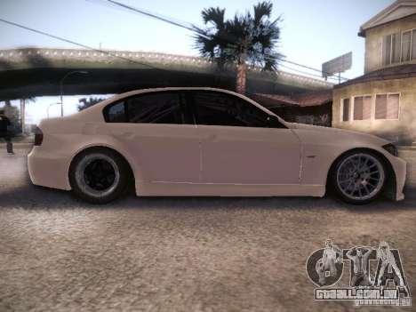 BMW 320SI Drift para GTA San Andreas vista interior
