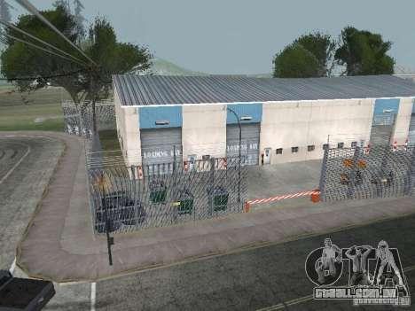 O primeiro táxi Parque versão 1.0 para GTA San Andreas por diante tela