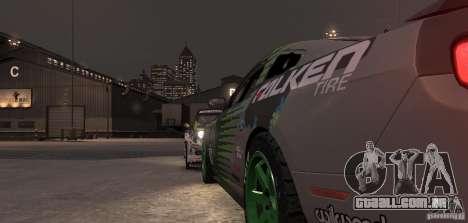 Ford Mustang Monster Energy 2012 para GTA 4 vista superior