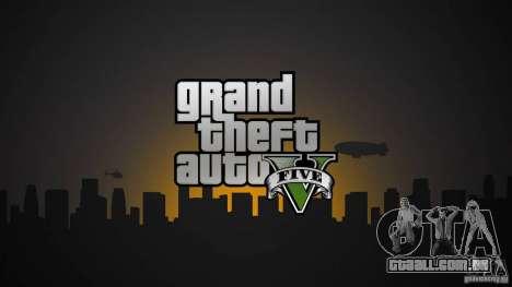 Telas de carregamento de GTA 5 para GTA San Andreas