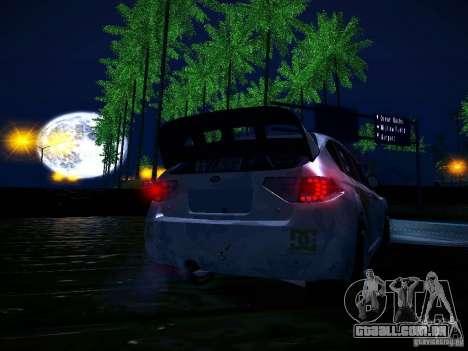 Subaru Impreza WRX STi N14 Rallycross para GTA San Andreas interior