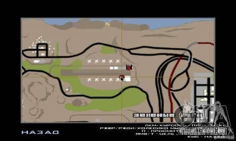 Guerra aérea para GTA San Andreas twelth tela