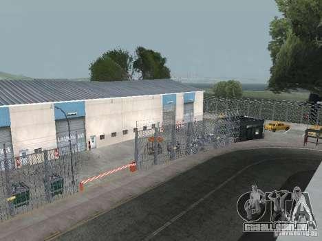 O primeiro táxi Parque versão 1.0 para GTA San Andreas