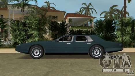 Aston Martin Lagonda, (I) 5.3 (1976-1997) para GTA Vice City deixou vista