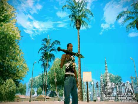 Armas Pack HD para GTA San Andreas terceira tela