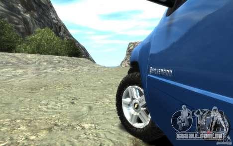 Chevrolet Silverado 2008 para GTA 4 vista de volta