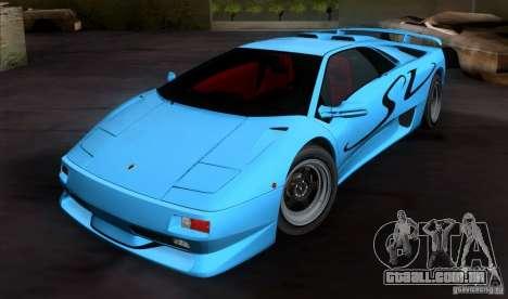 Lamborghini Diablo SV V1.0 para GTA San Andreas