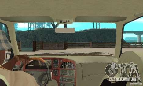 Saab 9000 GT Drifting 1998 para GTA San Andreas vista traseira