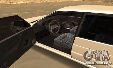 Estilo de Dag 2114 Ваз para GTA San Andreas vista traseira