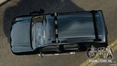 Chevrolet Tahoe LCPD SWAT para GTA 4 vista direita