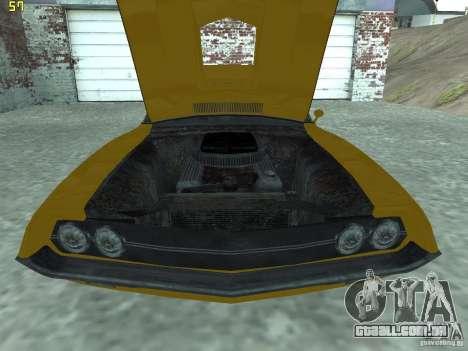 Ford Torino 70 para GTA San Andreas vista direita