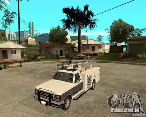Ford F150 1992 Utility Van para GTA San Andreas