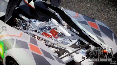 Mazda Furai Concept 2008 para GTA 4 vista interior