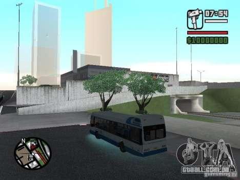 DAF para GTA San Andreas traseira esquerda vista