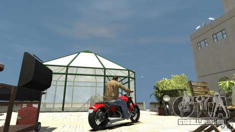 The Lost and Damned Bikes Nightblade para GTA 4 traseira esquerda vista