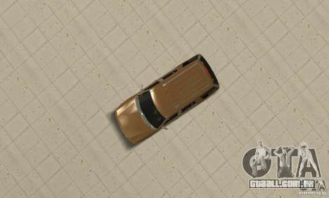 Ford Explorer 2002 para GTA San Andreas vista traseira