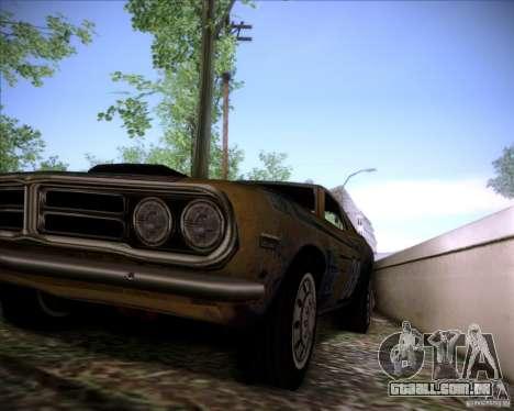 Pontiac Ventura 1971 para GTA San Andreas vista interior