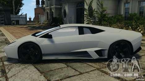 Lamborghini Reventon 2008 v1.0 [EPM] para GTA 4 esquerda vista