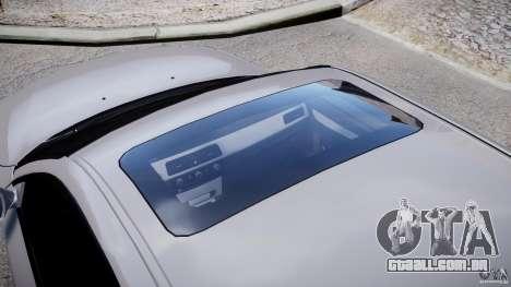 BMW M5 E60 2009 para GTA 4 vista superior