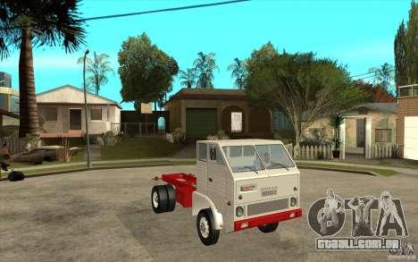 Dac 444 T para GTA San Andreas vista traseira