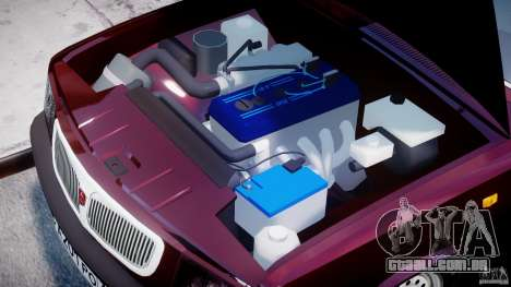 GAZ 3110 Volga para GTA 4 vista direita