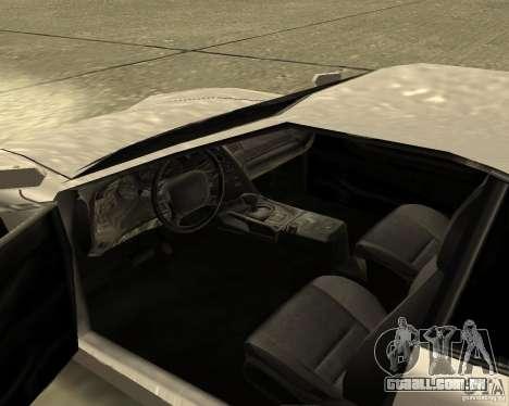 Azik Turismo para GTA San Andreas vista direita