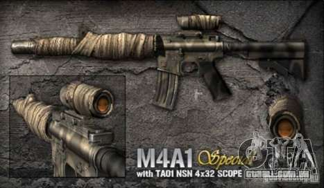 [Point Blank] M4A1 S para GTA San Andreas