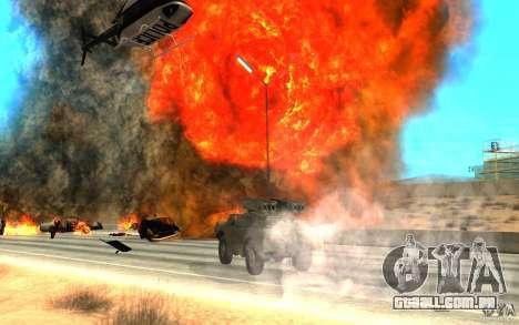 9 k 31 Strela-1 padrão para GTA San Andreas vista traseira
