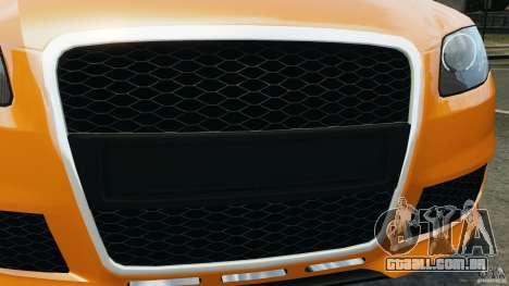 Audi RS4 EmreAKIN Edition para GTA 4 vista inferior