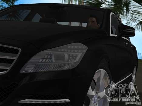 Mercedes-Benz CLS350 para GTA Vice City vista traseira esquerda