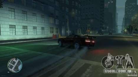 Ford Mustang GTR para GTA 4 vista direita