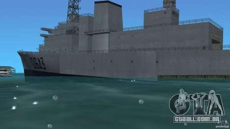 Fregate F70 ASM para GTA Vice City deixou vista