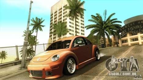 Volkswagen Beetle RSi Tuned para GTA San Andreas