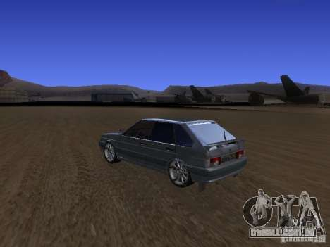 ВАЗ 2114 Tuning para GTA San Andreas esquerda vista