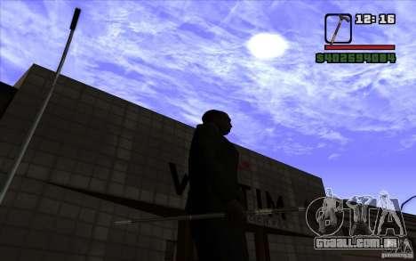 Cana-de-Nova para GTA San Andreas por diante tela