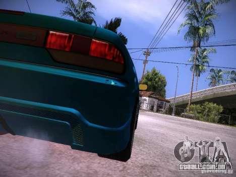 Nissan 200SX Falken Tire para GTA San Andreas vista direita