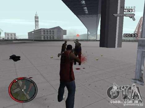 MASSKILL para GTA San Andreas por diante tela