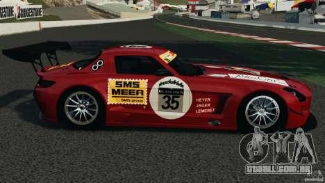 Mercedes-Benz SLS AMG GT3 2011 v1.0 para GTA 4 esquerda vista