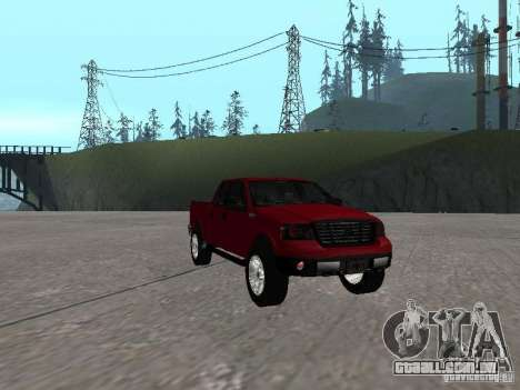 Ford F-150 2005 para GTA San Andreas vista traseira