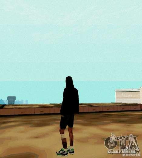 New Skin para GTA San Andreas segunda tela