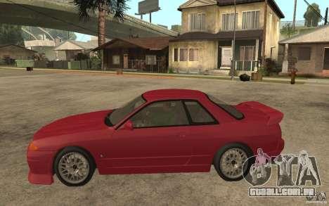 Nissan GTS-T 32 Beta para GTA San Andreas esquerda vista