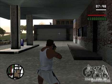 I AM Legend M4A1 para GTA San Andreas terceira tela