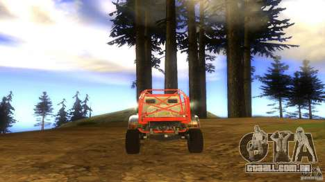 Insane 2 para GTA San Andreas vista traseira