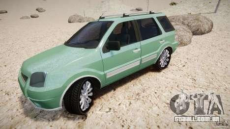 Ford EcoSport para GTA 4 rodas
