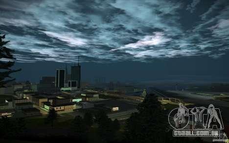 Timecyc para GTA San Andreas décimo tela