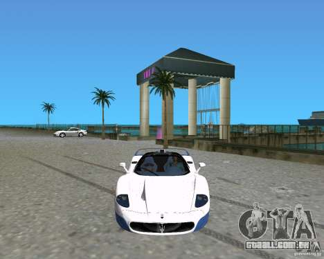 Maserati MC12 para GTA Vice City deixou vista